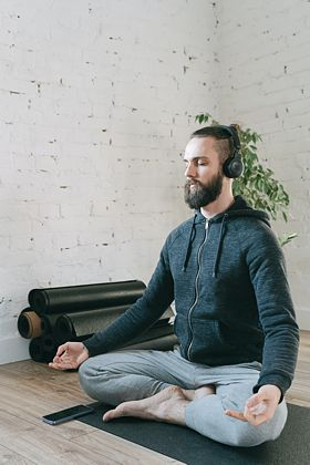 Meditation mit Binaural Beats