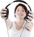 Meditation mit Kopfhörer